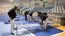Ayuntamiento Motril habilita pabellón deportes para acoger a 132 inmigrantes
