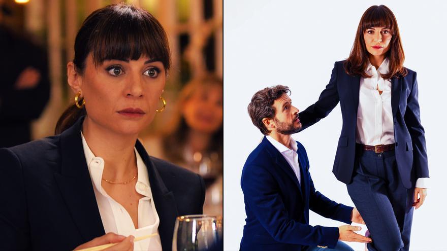 Miren Ibarguren y Diego Martín, pareja 'Supernormal'