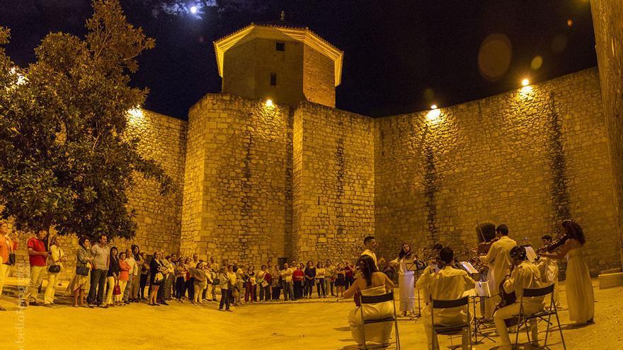 Un concierto en el castillo de Lucena.