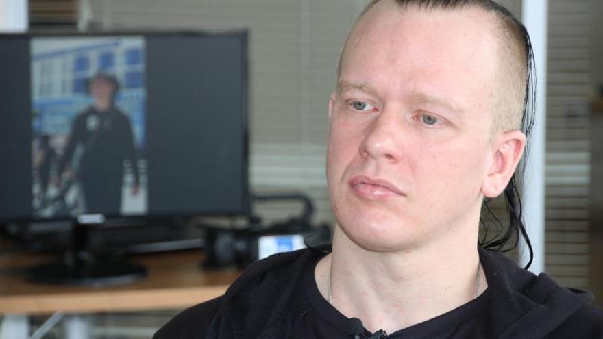 El informático sueco sospechoso de espionaje informático en Ecuador y amigo de Julian Assange, Ola Bini.