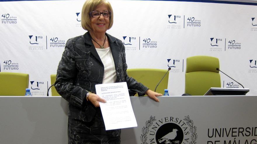 """La presidenta de la CRUE pide que no se modifique la beca Erasmus para el curso próximo y que se apoye """"cada vez más"""""""