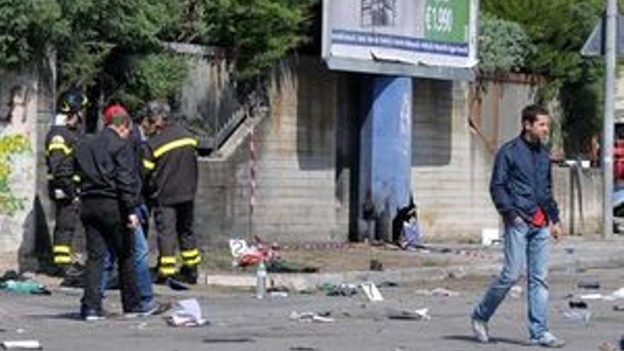 Lugar donde se produjo la explosión. (EUROPA PRESS)