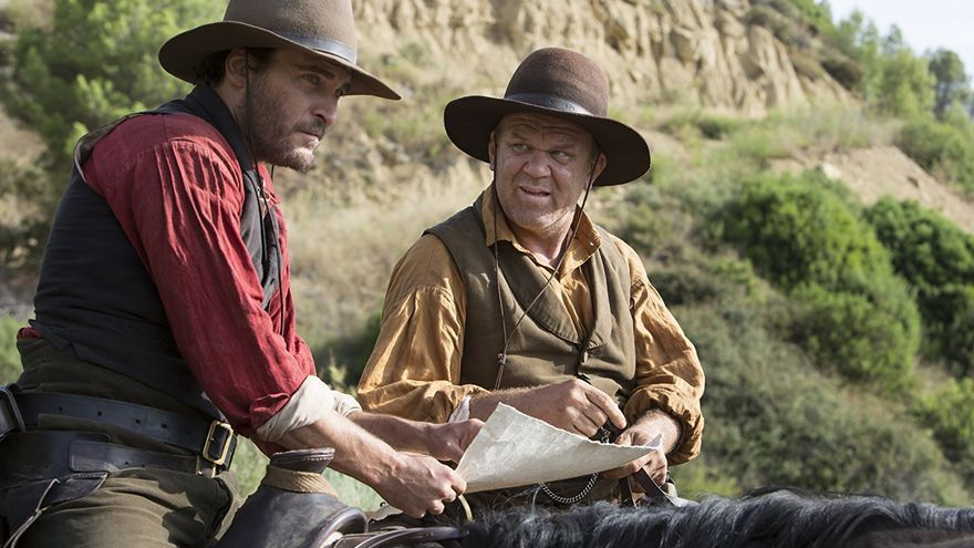 Joaquin Phoenix y John C. Reilly en 'The Sisters Brothers', de Jacques Audiard