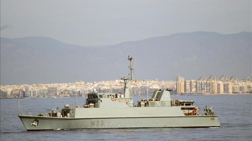Naves de 6 países participarán en un ejercicio contra minas en Murcia y Alicante