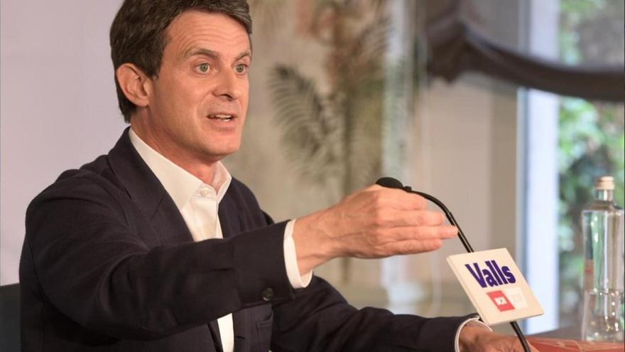"""Valls dice que la """"impecable"""" respuesta del PP a 52 diputados franceses la pueden """"firmar todos los constitucionalistas"""""""