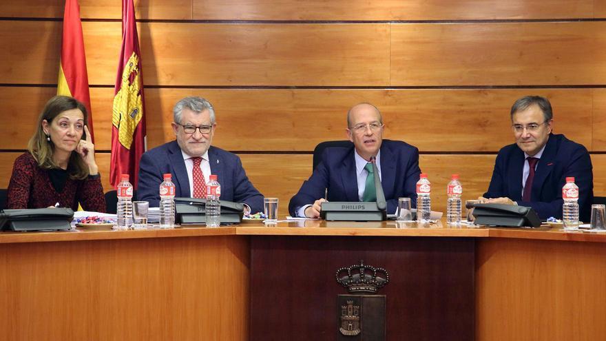 Ángel Felpeto en la Comisión de Presupuestos