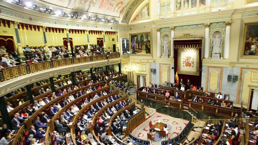 El Congreso acepta discutir la reforma electoral del PP para poder evitar elecciones en Navidad