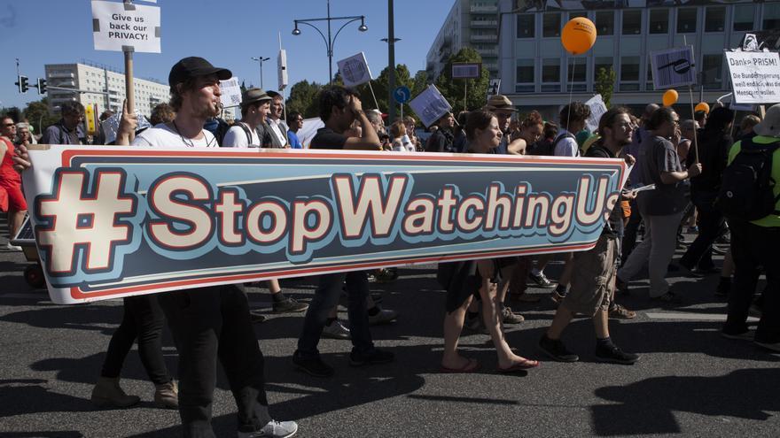 Manifestación contra la vigilancia masiva en Alemania © Demotix