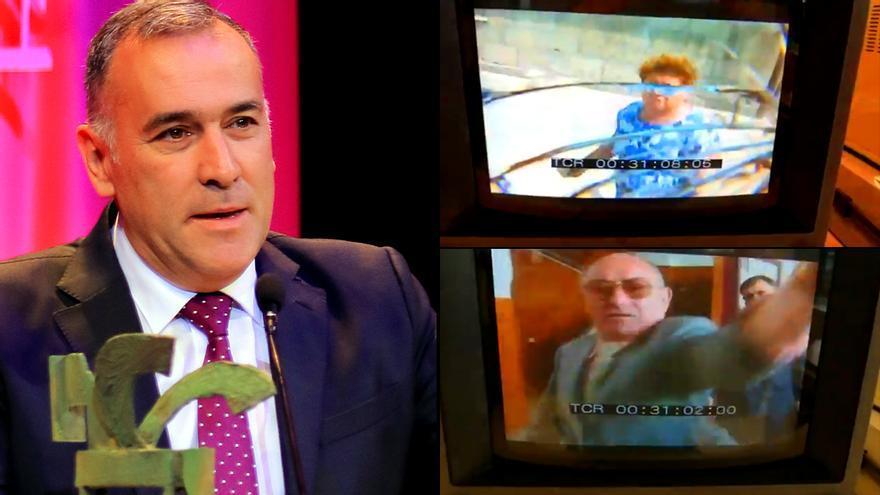 Xabier Fortes recuerda cuando la mujer del narco Charlín le rompió la cámara en sus inicios en TVE