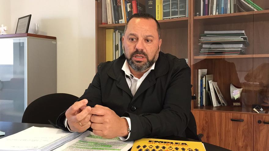 El concejal de Cohesión Social y Juventud del Ayuntamiento de Las Palmas de Gran Canaria, Jacinto Ortega.