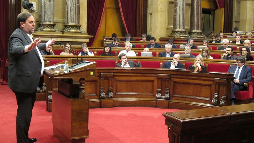 Junqueras asegura que la 'cumbre' del referéndum trata de democracia y no de independencia