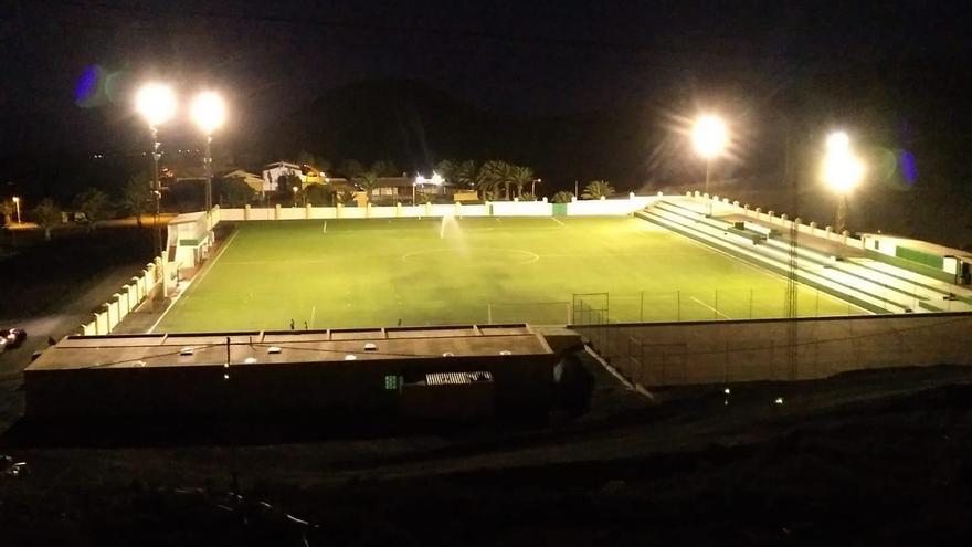 Imagen del campo de La Pared.