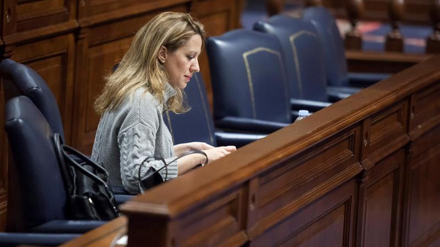 La consejera de Hacienda del Gobierno de Canarias, Rosa Dávila. EFE/Ramón de la Rocha