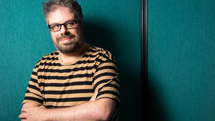 El escritor Sergio del Molino en la entrevista con elDiario.es.