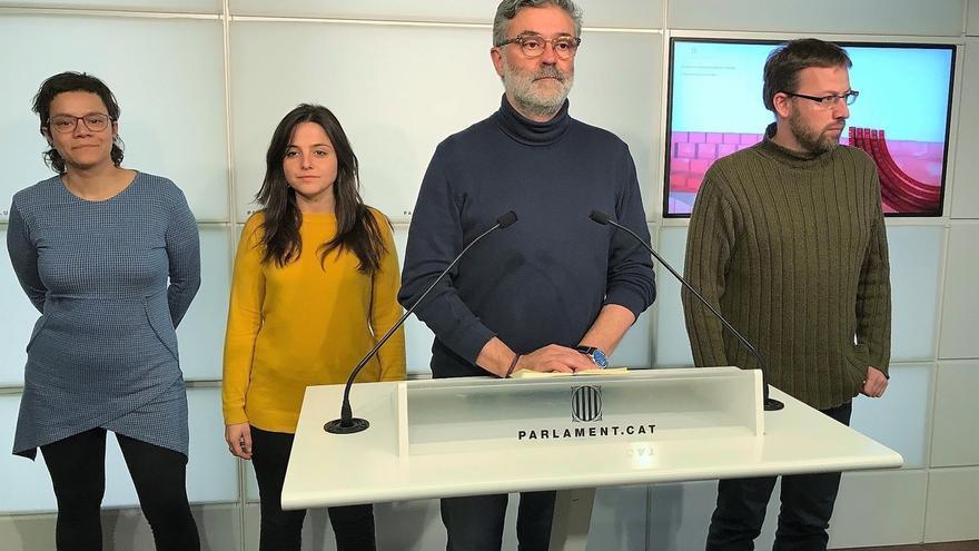 La CUP pide que el Parlament se reafirme en la declaración de independencia