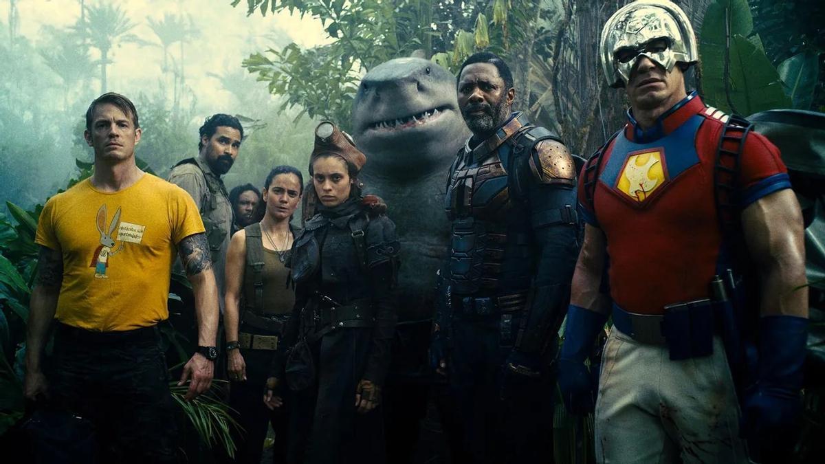 Algunos de los protagonistas de 'El escuadrón suicida', de James Gunn