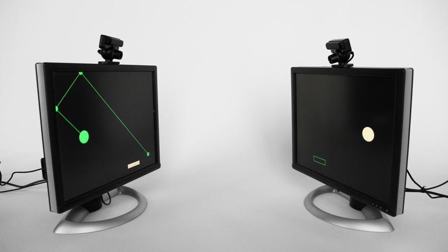 El proyecto artístico 'Talking' explora los mecanismos de percepción y comunicación humana