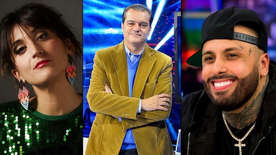 Susi Caramelo, Ramón García y Nicky Jam acompañarán a Pablo Motos en 'El Hormiguero'
