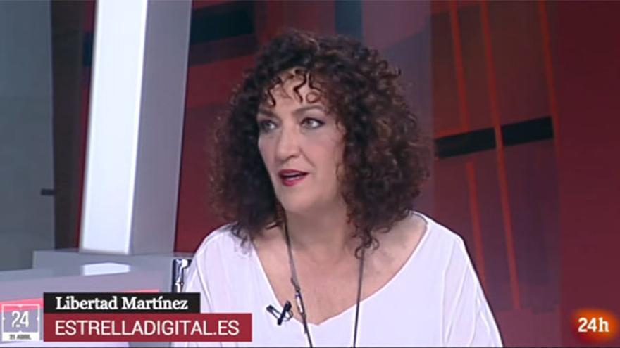 Libertad Martínez en el Canal 24h