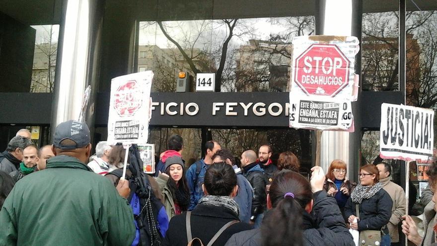 El Congreso votará la próxima semana la propuesta de Unidos Podemos de prohibir y paralizar los desahucios