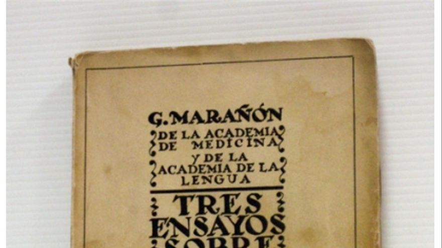 Tres ensayos de Gregorio Marañon