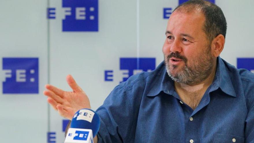 El portavoz de Catalunya en Comú, Joan Mena.