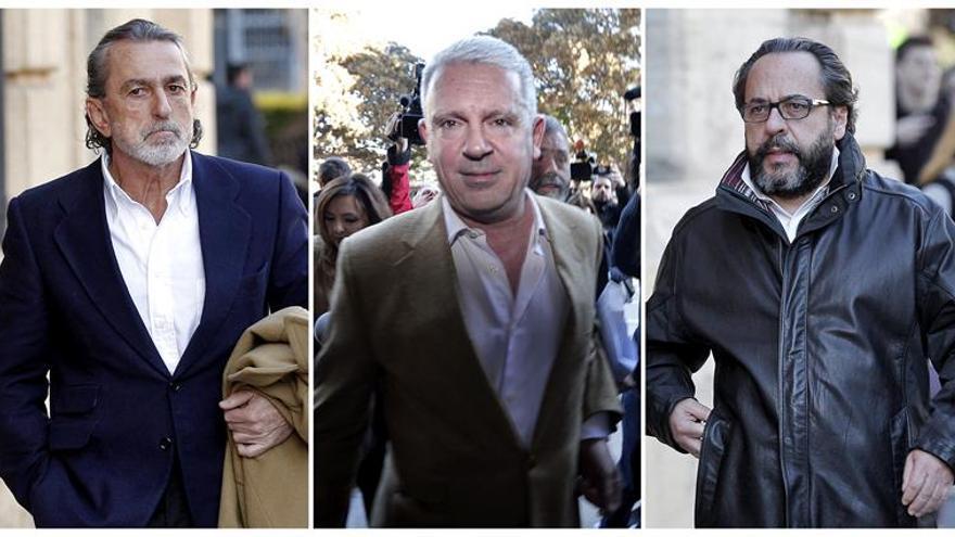 Se reanuda hoy el juicio de Gürtel con Correa, Crespo y El Bigotes presos