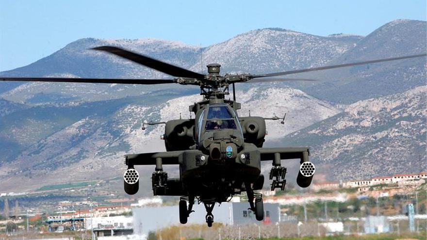Se estrella un helicóptero del ejército griego con cinco tripulantes