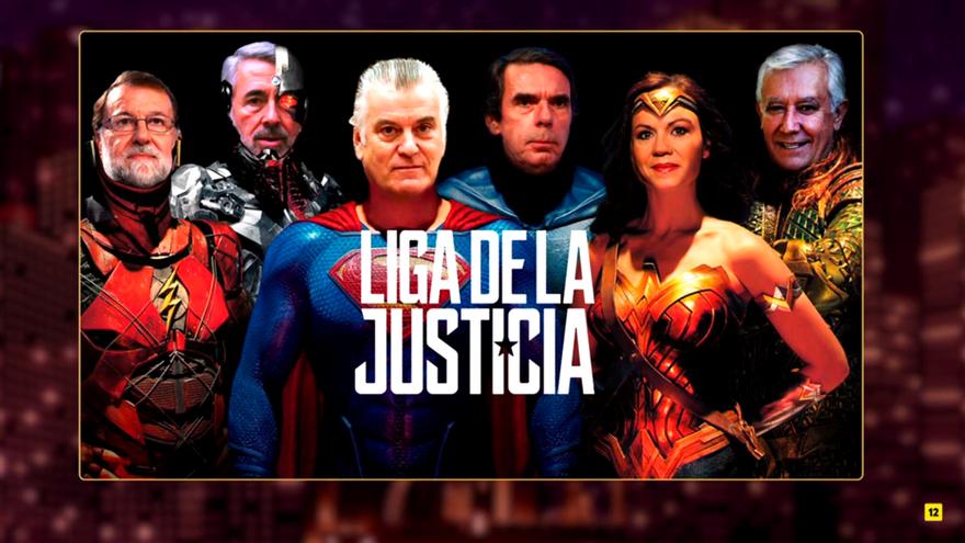 El remake de 'Liga de la Justicia' que propone Buenafuente