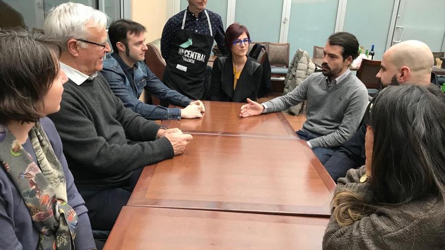 Ribó con los ciudadanos valencianos afincados en New York