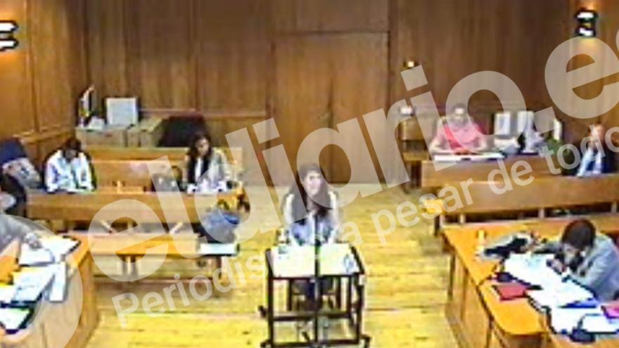 Cecilia Rosado declara en los juzgados por el Caso Cifuentes