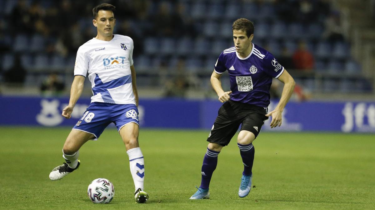 Isma López en el Tenerife-Valladolid de Copa del pasado enero.