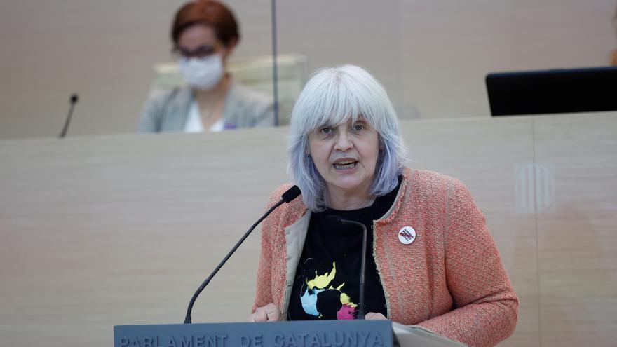 La líder de la CUP en el Parlament, hospitalizada en Badalona por covid