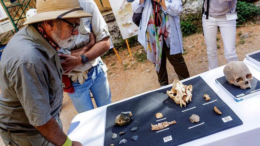 Eudald Carbonell: Hace falta rodar el 'En busca del fuego' de Atapuerca