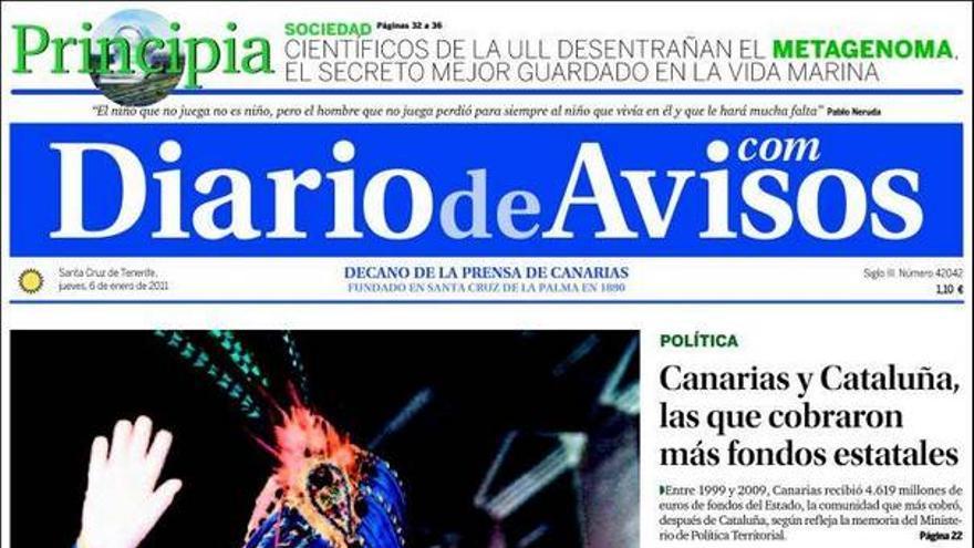 De las portadas del día (06/01/2011) #2