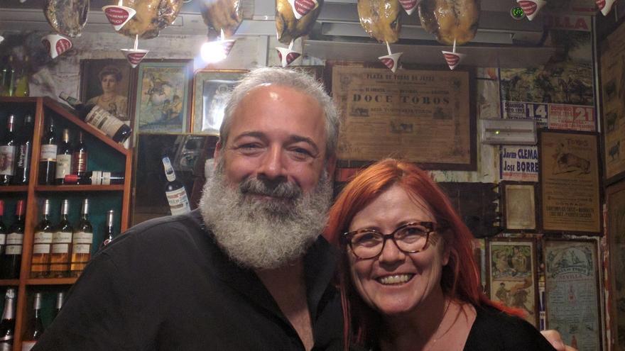 Pepe Cervera y Clara Grima