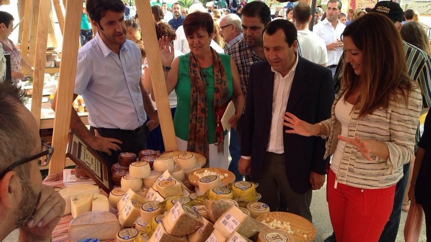 Las mejores queserías artesanas se dan cita este fin de semana en la Feria Mercado de Teba