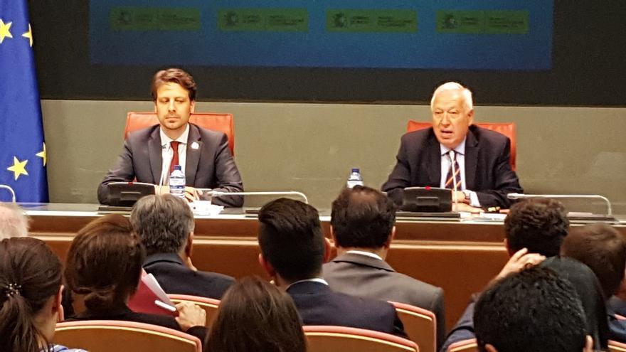 Margallo dice que lo importante es que el PSOE apoye un Gobierno de Rajoy, y lo de menos la fórmula