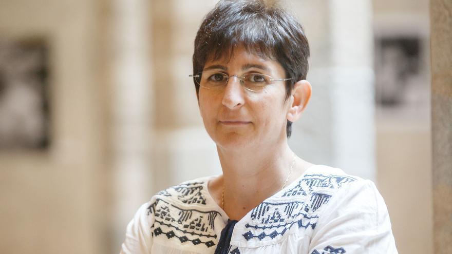 La directora de la asociación Addameer, Sahar Francis / Foto: Iñaki Zaldúa.