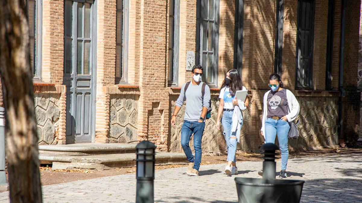 Estudiantes de la UCLM