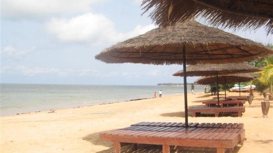 Saly es una de las zonas turísticas más importantes de Senegal