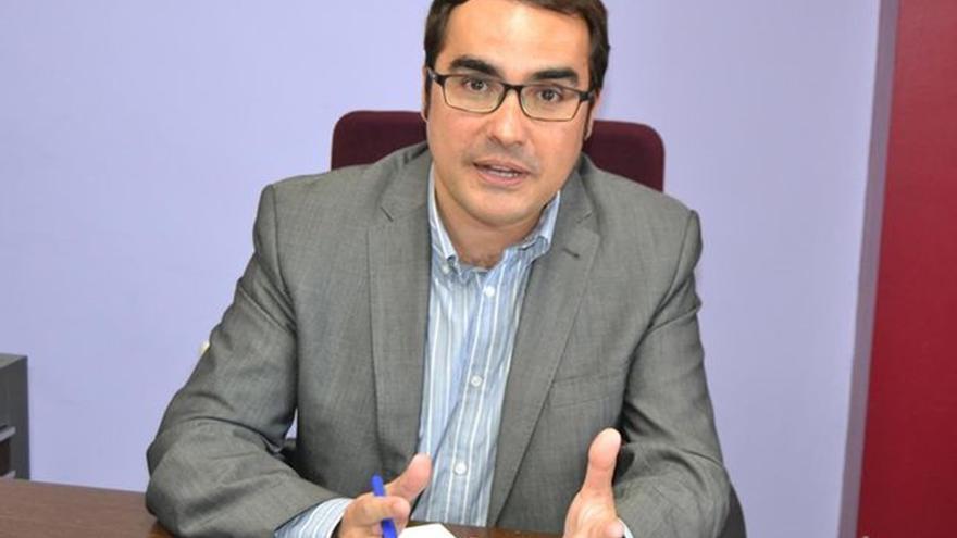 Daniel Díaz, el candidato a la alcaldía de Tacoronte por Nueva Canarias-FA, fuerza que obtuvo cuatro representantes