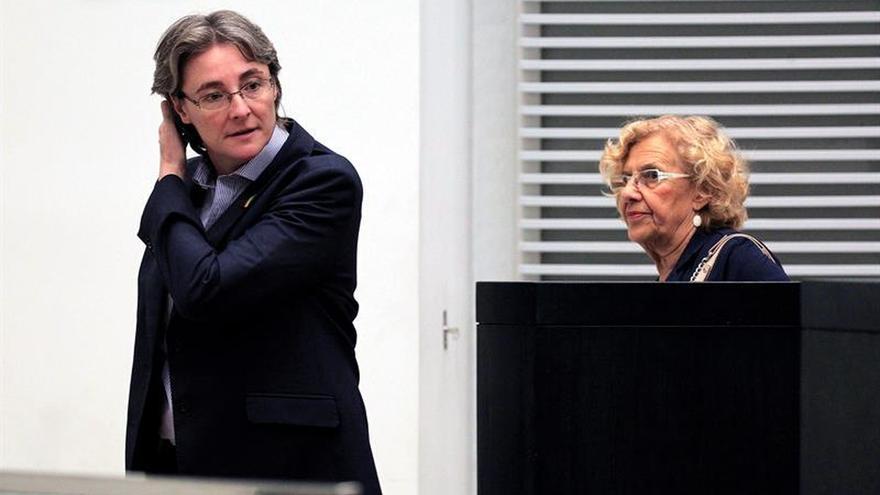 """Carmena insiste: No tiene """"sentido"""" poner una pancarta a Miguel Ángel Blanco"""