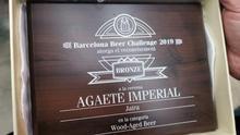 Distinción conseguida en el certamen internacional celebrado en Barcelona