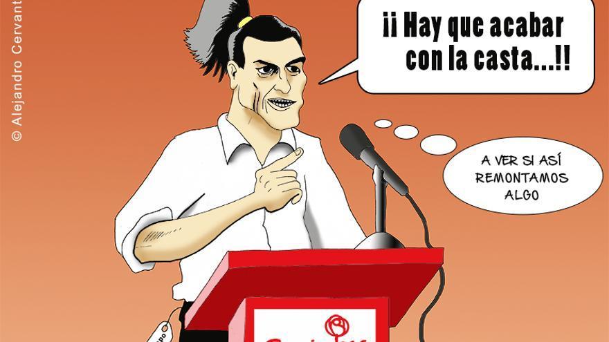 El PSOE no levanta la cabeza