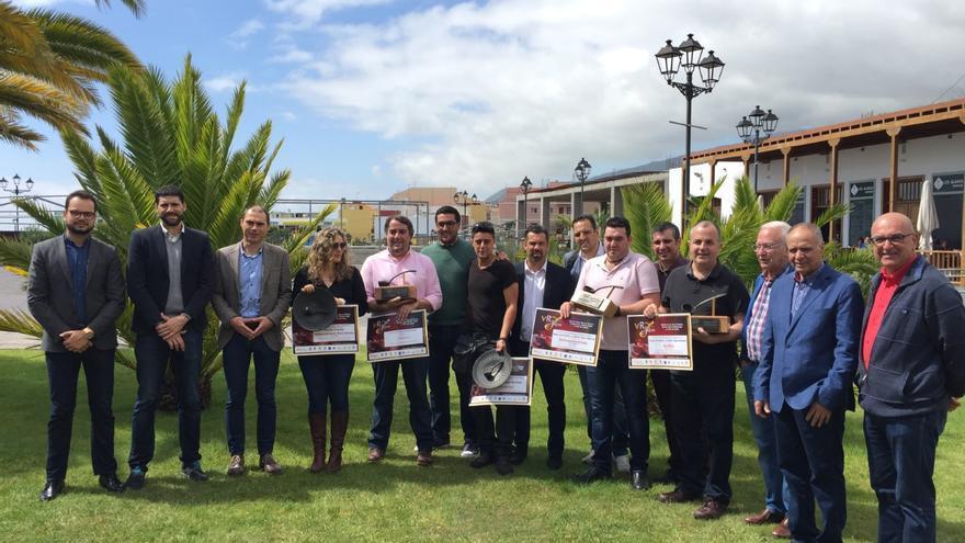 La entrega de premios se celebró en el Museo del Puro de Breña Alta.