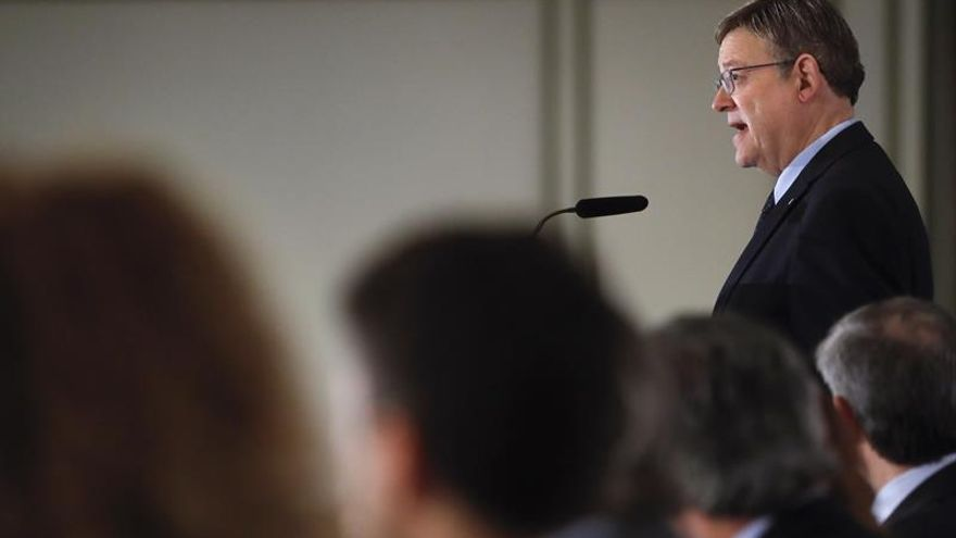 """Puig defiende la """"urgencia del cambio"""" del modelo de financiación autonómico"""