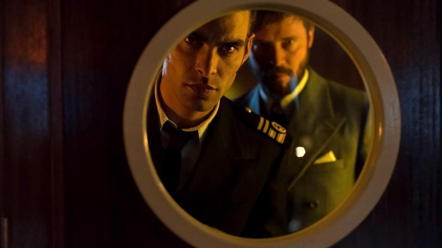 Jon Kortajarena protagoniza 'Alta mar' en Netflix