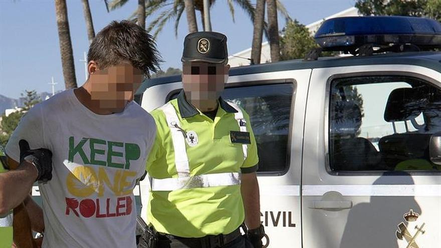 Pasa a disposición judicial el conductor que atropelló a un ciclista en Oliva