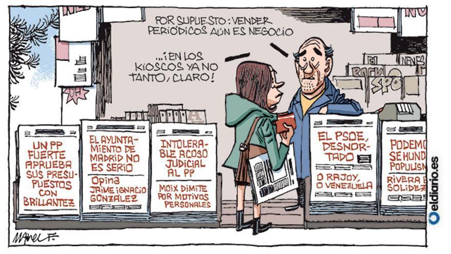 Vender periódicos